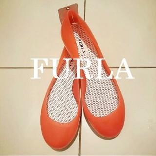 フルラ(Furla)の未使用 FURLA ラバーパンプス(レインブーツ/長靴)