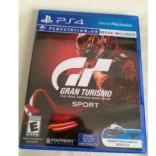 プレイステーション4(PlayStation4)のグランツーリスモ スポーツ 北米版 PS4(家庭用ゲームソフト)