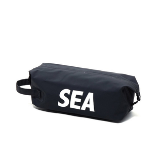 WIND AND SEA WDS DOPP KIT BAG (LARGE) 黒