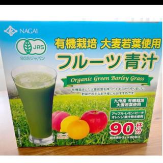 コストコ(コストコ)の新品◎フルーツ青汁 オーガニック 青汁 有機青汁(青汁/ケール加工食品)