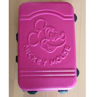 ディズニー(Disney)のディズニー キャリーケース ミッキー ピンク(スーツケース/キャリーバッグ)