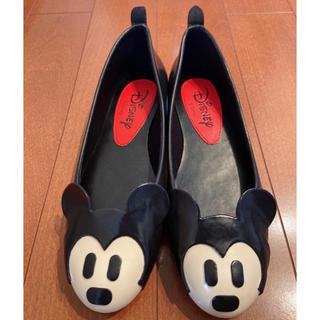 ダイアナ(DIANA)のDIANA disney ディズニーデザイン・レインフラットシューズ(長靴/レインシューズ)