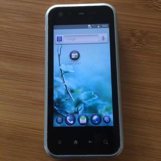 シャープ(SHARP)のスマートフォン  au IS05 SHARP(スマートフォン本体)