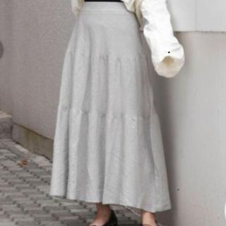 ダズリン(dazzlin)のdazzlin ラメティアードロングスカート 未使用品(ロングスカート)