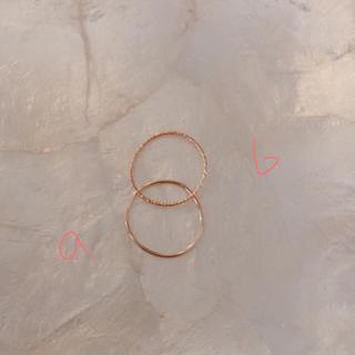 エディットフォールル(EDIT.FOR LULU)のmangata モンガータ 18kリング(リング(指輪))