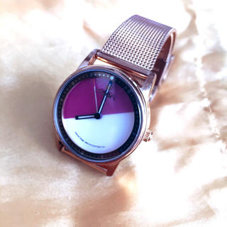 ヌーン(noon)のnoon No.45 ラベンダー時計(腕時計)