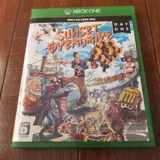 エックスボックス(Xbox)のXBOXONE  サンセットオーバードライブ(家庭用ゲーム機本体)