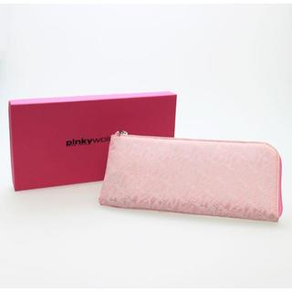 ピンキーウォルマン(pinky wolman)の新品送料無料 Pinky wolman(ピンキーウォルマン)L字型長財布 ピンク(財布)