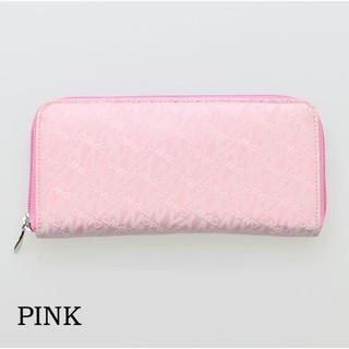 ピンキーウォルマン(pinky wolman)の新品送料無料Pinky wolman(ピンキーウォルマン)ラウンド長財布 ピンク(財布)