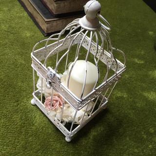 ザラ(ZARA)のザラホームの小さめ鳥かご ブライダル(置物)