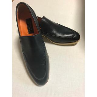 アオヤマ(青山)のCHRISTIAN ORANI ローファー 革靴 新品未使用(ローファー/革靴)