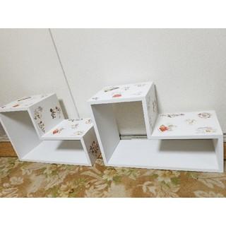 スヌーピー(SNOOPY)のSNOOPYの飾りBOX(2個のセット)(ケース/ボックス)