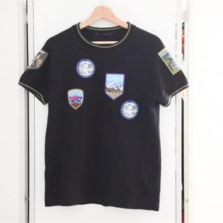 ルイヴィトン(LOUIS VUITTON)のルイヴィトン 18AW ナショナルパーク パッチワーク Tシャツ 半袖 XS(Tシャツ/カットソー(半袖/袖なし))