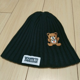ヒステリックグラマー(HYSTERIC GLAMOUR)のリバーシブル帽子(ニット帽/ビーニー)