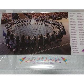 ノギザカフォーティーシックス(乃木坂46)の乃木坂46☆真夏の全国ツアー2019・A4アクリルPOP(アイドルグッズ)