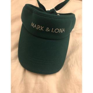 マークアンドロナ(MARK&LONA)のレオ様専用 MARK&LONA☆サンバイザー(サンバイザー)