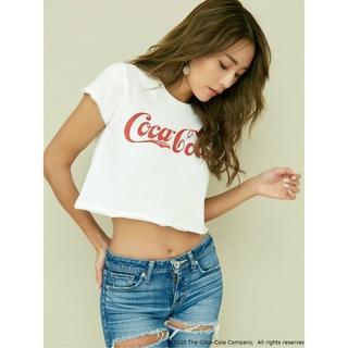ジェイダ(GYDA)のCOCA-COLA ショートTシャツ(Tシャツ(半袖/袖なし))