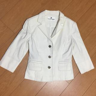 クレージュ(Courreges)のクレージュ ホワイトジャケット(スーツ)