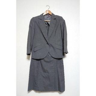 アオヤマ(青山)の【洋服の青山】PERSON'S ミディアムグレー スマート スーツ(スーツ)