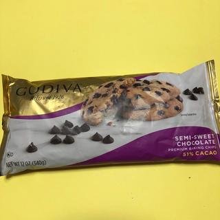 GODIVA製菓用チョコチップ1袋新品です!(菓子/デザート)