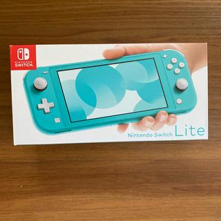 ニンテンドースイッチ(Nintendo Switch)の即日発送 Nintendo Switch Lite 本体 ターコイズ(家庭用ゲーム機本体)