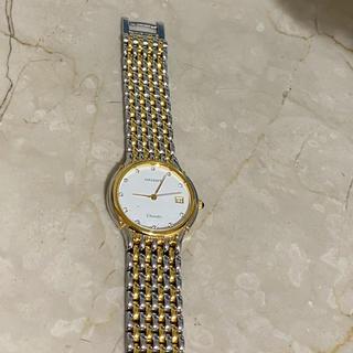 オリエント(ORIENT)のOrient chandor ダイヤ使用 腕時計(腕時計)