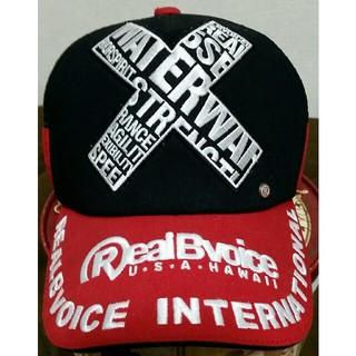 リアルビーボイス(RealBvoice)のキャップ帽子(キャップ)