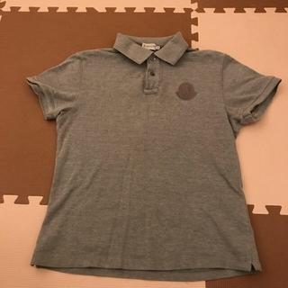 モンクレール(MONCLER)のモンクレール ポロシャツ グレー(シャツ)