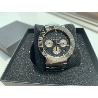 ブルガリ(BVLGARI)の【メンズ】BVLGARI 【ブルガリブルガリ】自動巻き クロノグラフ腕時計(腕時計(デジタル))