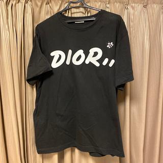 ディオールオム(DIOR HOMME)の本物ディオールオム×KAWSコラボTシャツDIORHOMMEカウズ正規品19ss(Tシャツ/カットソー(半袖/袖なし))