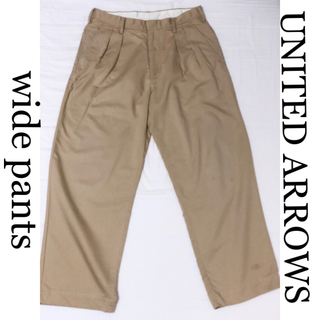 ユナイテッドアローズ(UNITED ARROWS)のUNITED ARROWS ワイドパンツ(チノパン)
