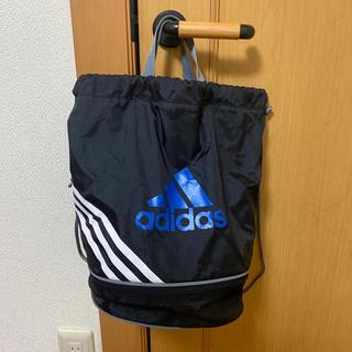 アディダス(adidas)のadidasプールバッグ(マリン/スイミング)