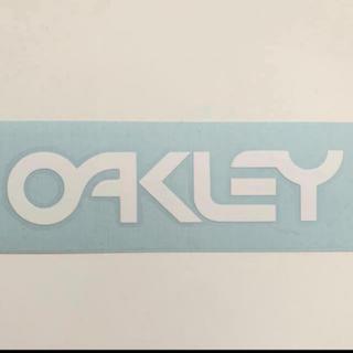 オークリー ステッカー 白 ◆04◆ OAKLEY (アクセサリー)
