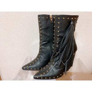 Yellow boots - YELLO イェロー ショートブーツ