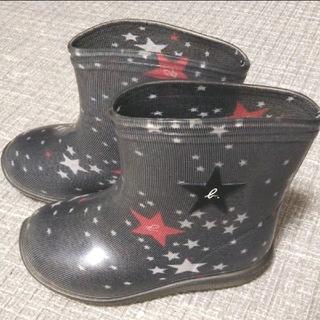 アニエスベー(agnes b.)の【激可愛♡値下げ】アニエスベー レインブーツ キッズ(長靴/レインシューズ)