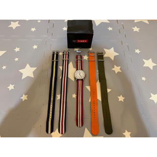 タイメックス(TIMEX)のTIMEX タイメックス ウィークエンダーセントラルパーク NATOベルト 4本(腕時計(アナログ))