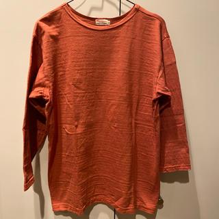ウエアハウス(WAREHOUSE)のwarehouse ウエアハウス 七分袖 無地T(Tシャツ/カットソー(七分/長袖))