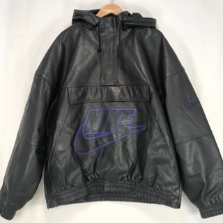 シュプリーム(Supreme)の【付属品有】supreme nike 19fw leather anorak(レザージャケット)