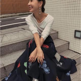 アメリヴィンテージ(Ameri VINTAGE)のAmeri Vintageアマンダスカート(ロングスカート)