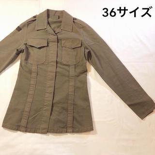 グレースコンチネンタル(GRACE CONTINENTAL)の【36サイズ】SHARE2000 ミニタリージャケット(ミリタリージャケット)