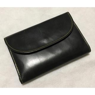 ホワイトハウスコックス(WHITEHOUSE COX)のそうし様専用 ホワイトハウスコックス ◆ 財布 ブラック(折り財布)