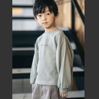 シマムラ(しまむら)の値下げ ピスタチオカラー プチプラのあやプロデュース トレーナー120cm(ジャケット/上着)