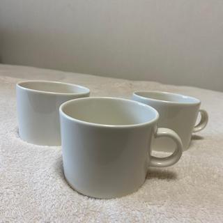 イッタラ(iittala)のイッタラ ホワイト カップ 3個(グラス/カップ)
