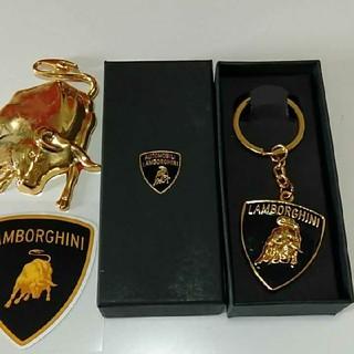 ランボルギーニ(Lamborghini)のランボルギーニキーホルダーになります。(その他)