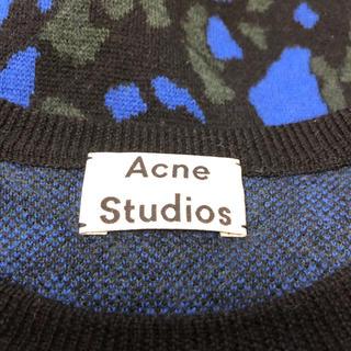 ACNE - ACNE STUDIOS(アクネ ストゥディオズ)  総柄デザインニットセーター