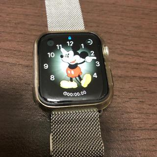 アップルウォッチ(Apple Watch)のApple Watch Series 4 ステンレススチール(スマートフォン本体)