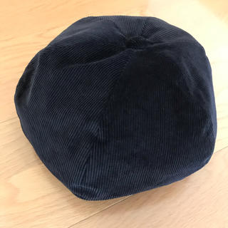 コーデュロイ ベレー帽(ハンチング/ベレー帽)