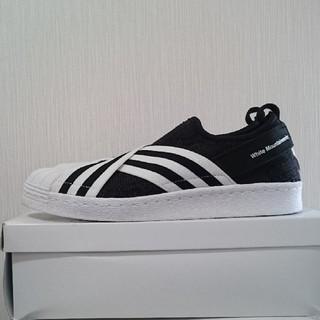 アディダス(adidas)のadidasスリッポン26.0美品(スリッポン/モカシン)