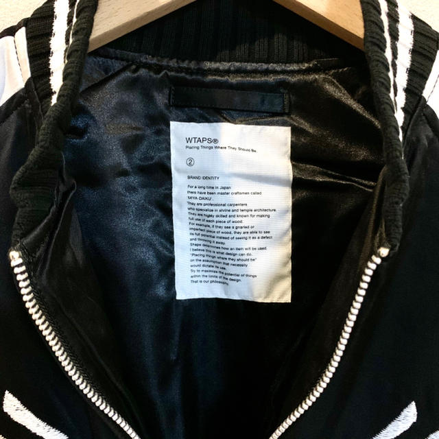 W)taps(ダブルタップス)のWTAPS  V=A / JACKET. RACO. SATIN メンズのジャケット/アウター(ブルゾン)の商品写真