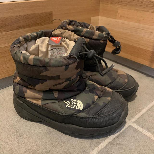 THE NORTH FACE(ザノースフェイス)のTHE NORTH FACE スノーブーツ キッズ/ベビー/マタニティのキッズ靴/シューズ(15cm~)(ブーツ)の商品写真
